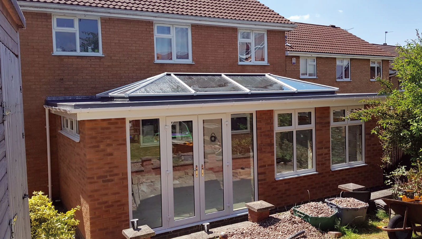 Warmglaze Conservatory with canopy roof
