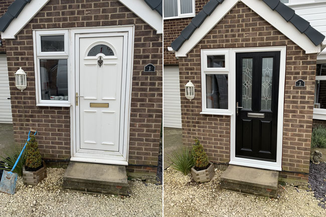 Change your property's entrance with a Warmglaze Door Upgrade